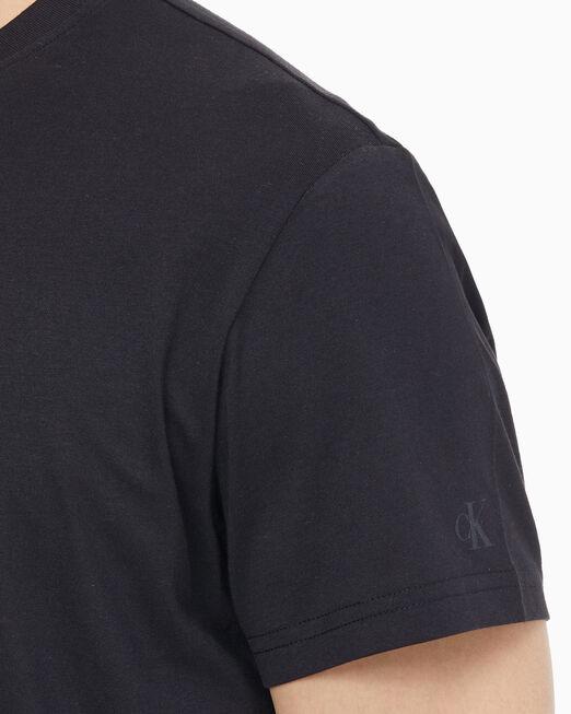 CALVIN KLEIN 남성 CK 라운드 로고 레귤러 반팔 티셔츠