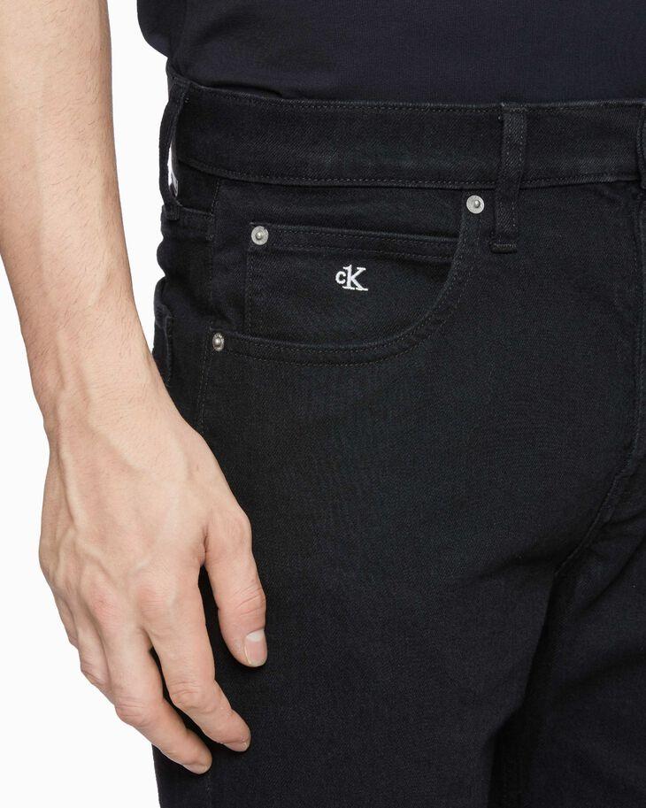 CALVIN KLEIN CK ONE 丹寧直筒短褲