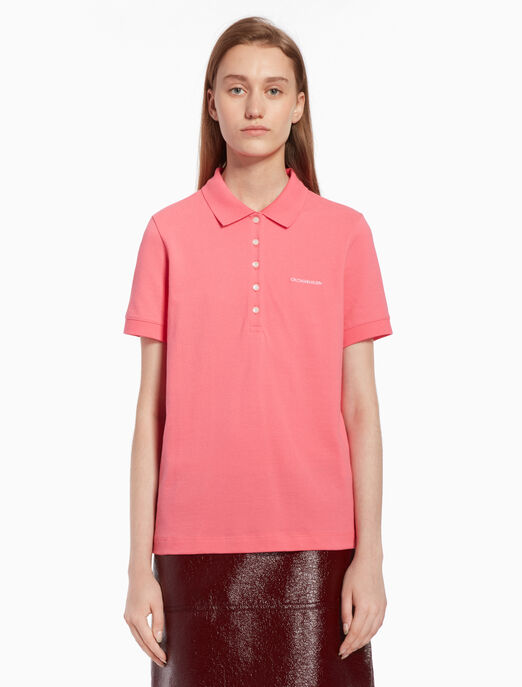 CALVIN KLEIN 로고 폴로 셔츠
