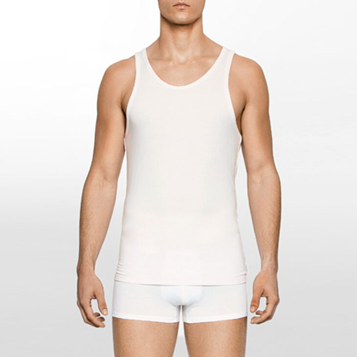 CALVIN KLEIN Calvin Klein Modern Cotton Stretch Tank 2 Pack