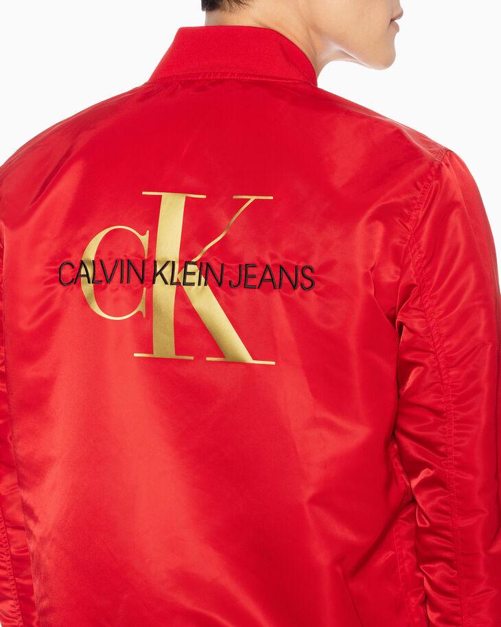 CALVIN KLEIN CNY CAPSULE リバーシブル ボンバージャケット