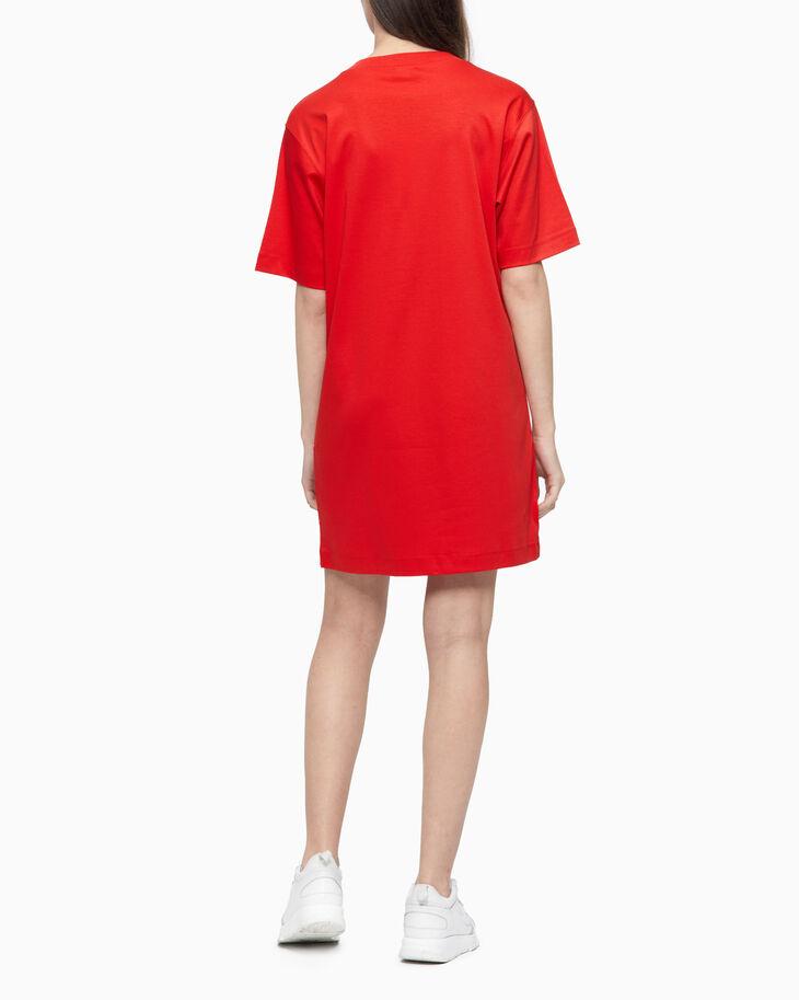 CALVIN KLEIN HEART CALVIN T-SHIRT DRESS