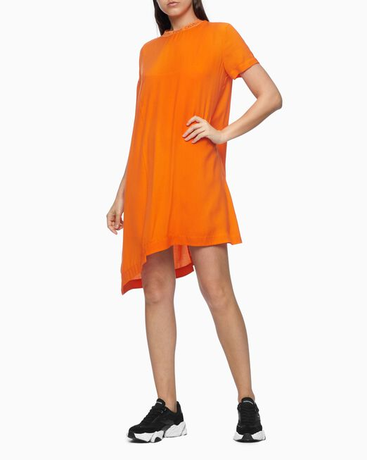 CALVIN KLEIN 여성 프리미엄 미니 드레스