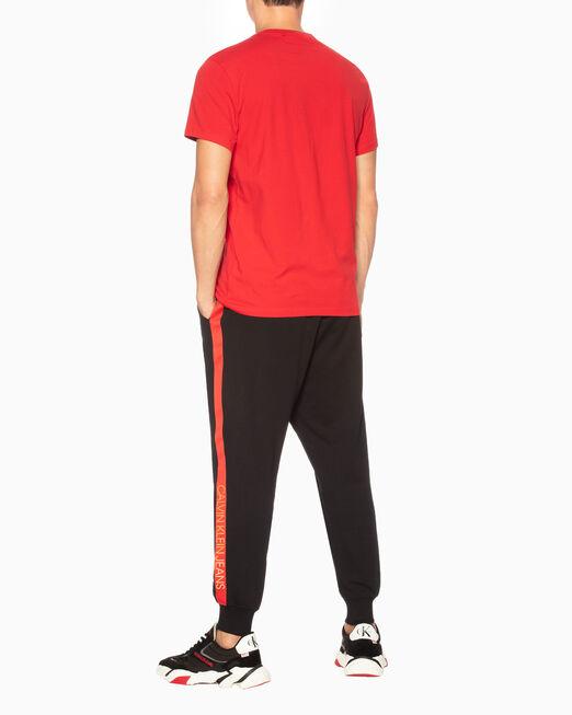 CALVIN KLEIN 남성 씨엔와이 모노그램 슬림핏 반팔 티셔츠