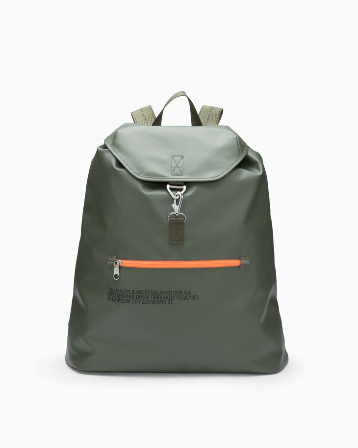 CALVIN KLEIN TARP DRAWSTRING BACKPACK