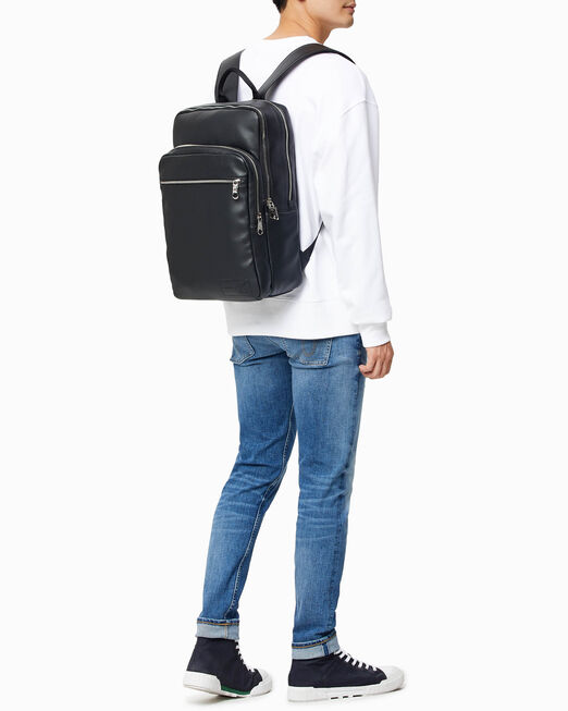 CALVIN KLEIN MICRO PEBBLE SQUARE BACKPACK 45CM
