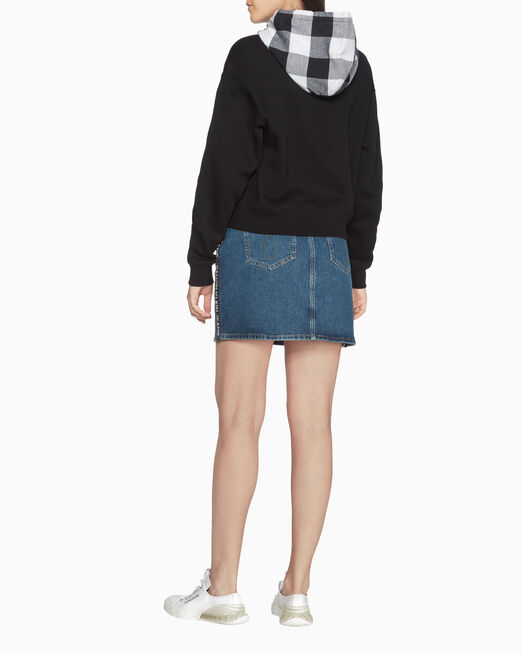 CALVIN KLEIN BUFFALO CHECK 스웨트셔츠