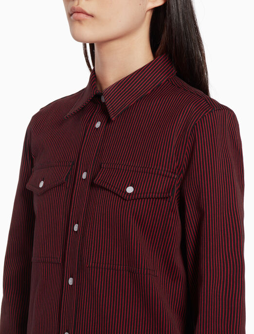 CALVIN KLEIN Classic striped shirt