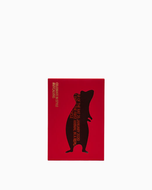 CALVIN KLEIN CNY SPECIAL LEATHER POUCH