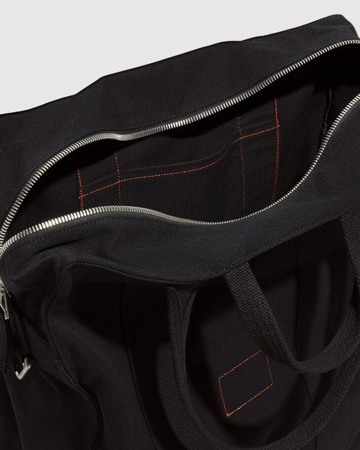 CALVIN KLEIN ORGANIC COTTON CANVAS 中型側背袋