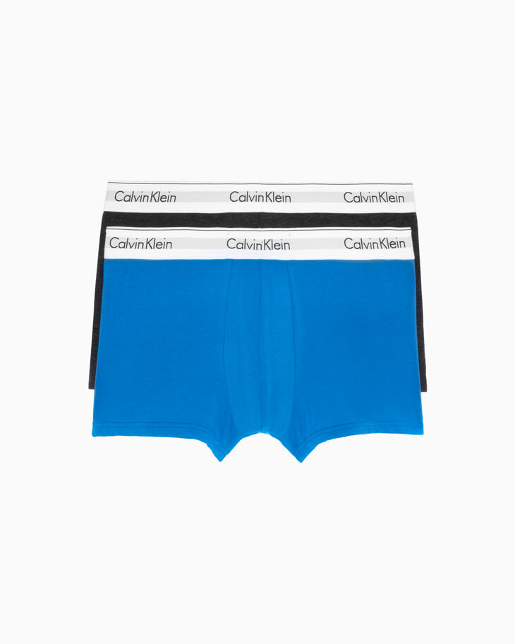 CALVIN KLEIN MODERN COTTON ストレッチトランクス 2枚入りパック