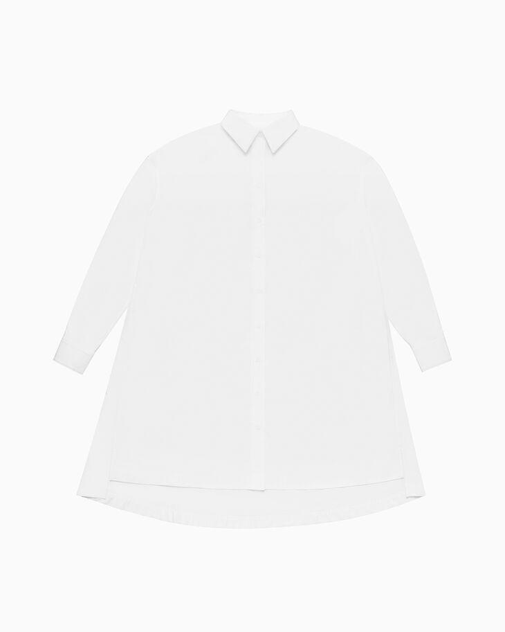 CALVIN KLEIN オーバーサイズツイルシャツドレス