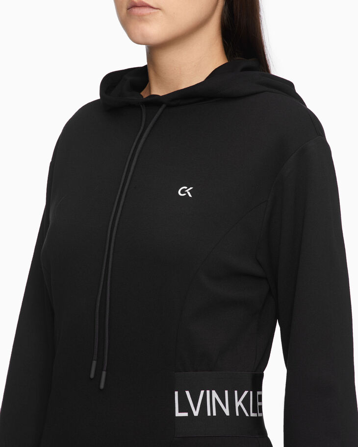 CALVIN KLEIN ACTIVE ICON フード付きドレス