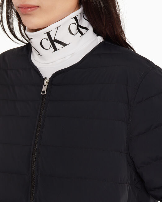 CALVIN KLEIN QUILTED 다운 재킷