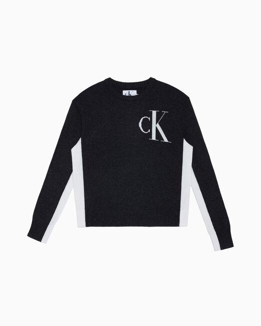 CALVIN KLEIN 아카이브 로고 스웨터
