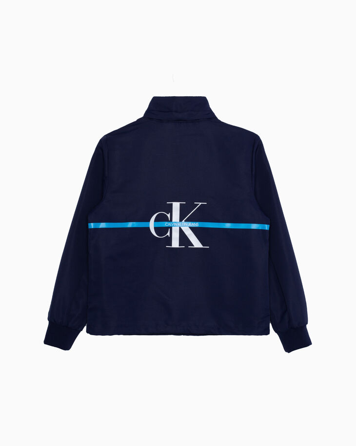 CALVIN KLEIN BOYS MONOGRAM STRIPE 外套