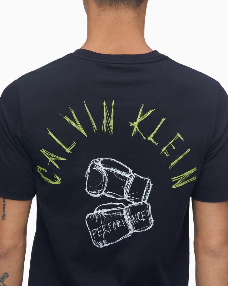 CALVIN KLEIN BOXING GLOVE GRAPHIC TEE