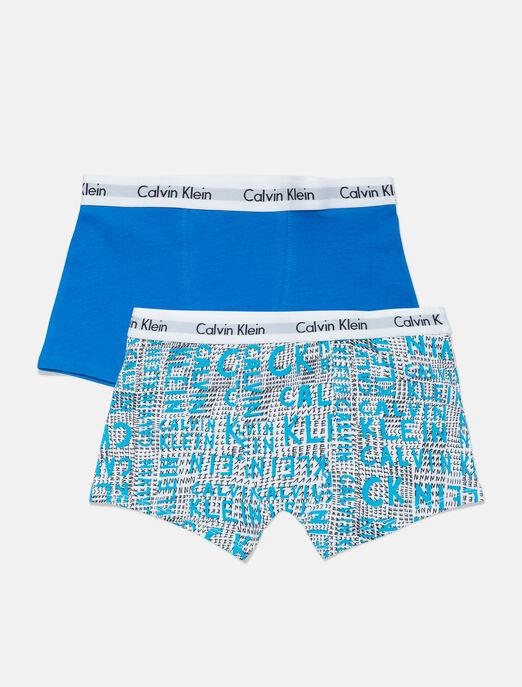CALVIN KLEIN 남아용 트렁크 2개입