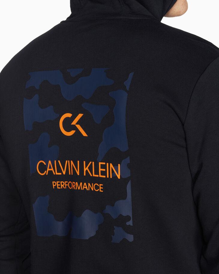 CALVIN KLEIN STATEMENT ESSENTIALS BILLBOARD ZIP UP HOODIE