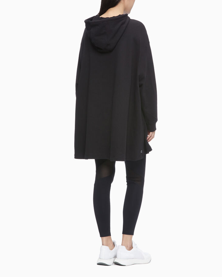 CALVIN KLEIN UTILITY STRONG HOODED DRESS