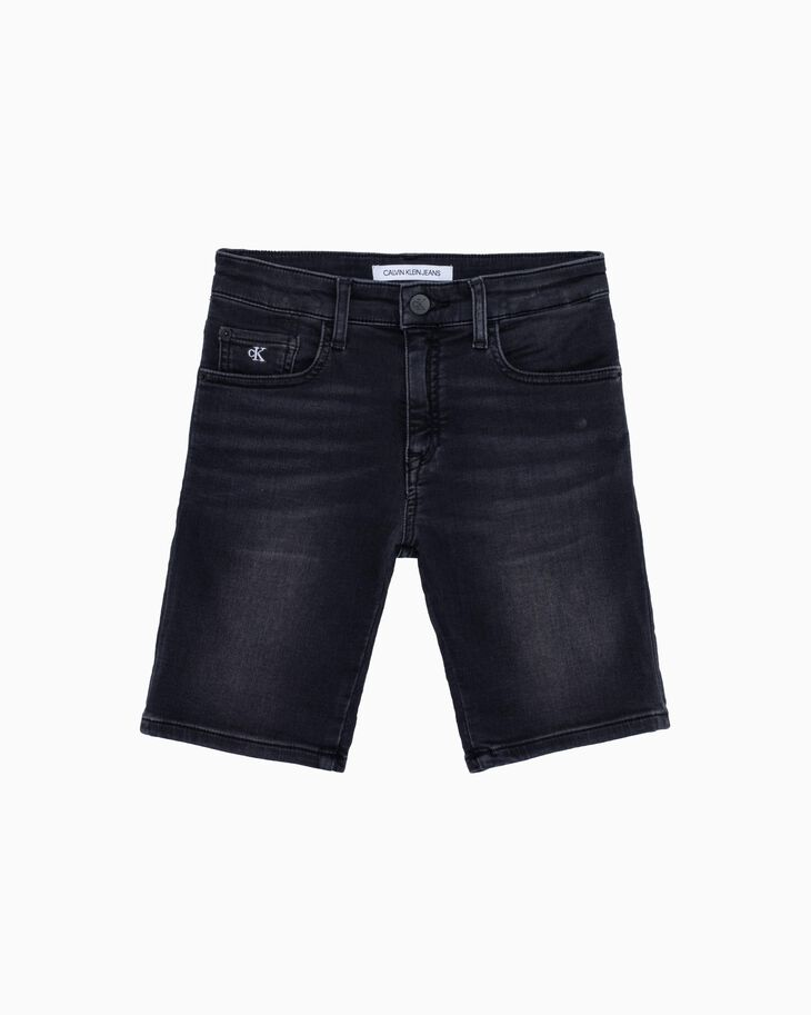 CALVIN KLEIN BOYS SLIM DENIM SHORTS