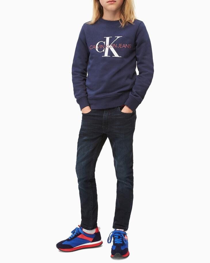 CALVIN KLEIN MONOGRAM ボーイズ用スウェットシャツ
