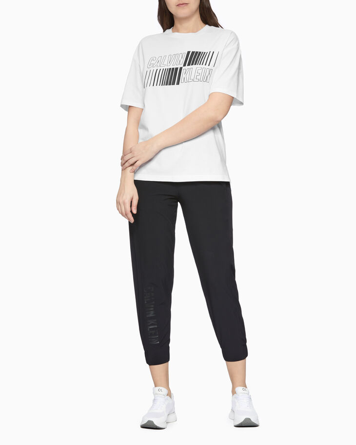 CALVIN KLEIN STATEMENT ESSENTIALS WOVEN 7/8 PANTS
