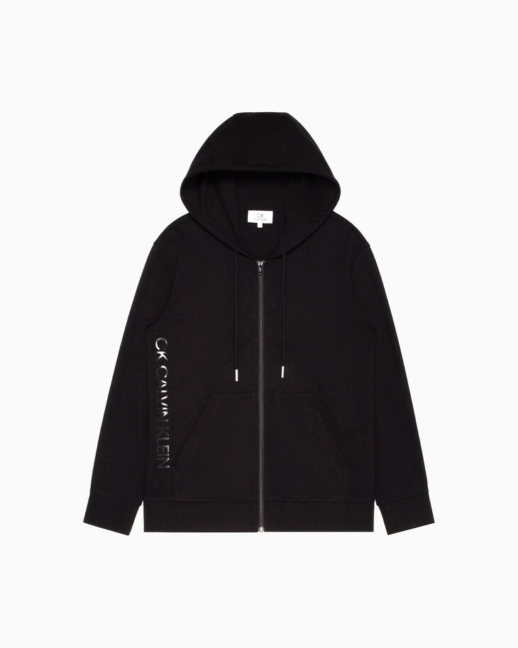 CALVIN KLEIN FOIL LOGO ZIP UP 連帽上衣