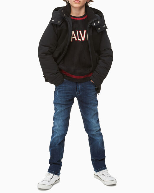 CALVIN KLEIN 남아용 MIXED MEDIA 재킷