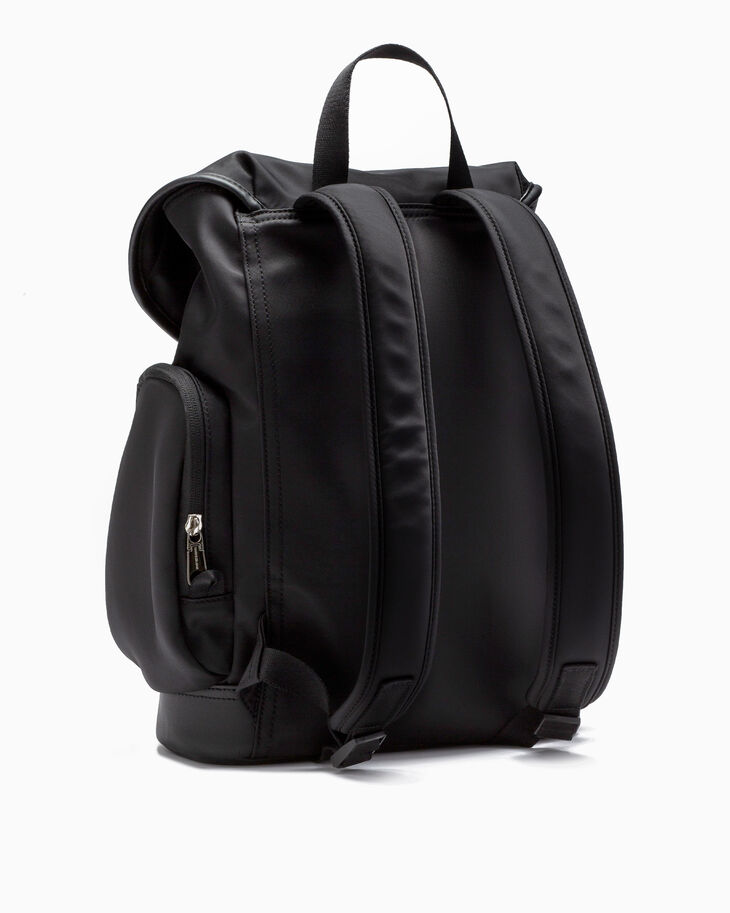 CALVIN KLEIN SLEEK NYLON FLAP BACKPACK 35CM
