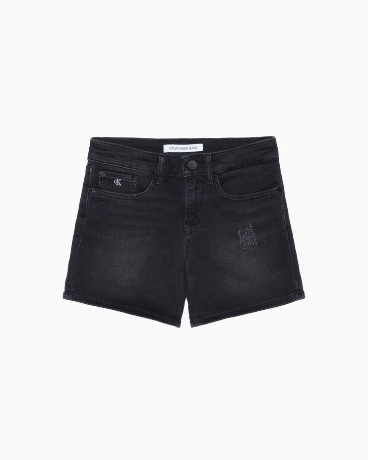 CALVIN KLEIN GIRLS MID 丹寧短褲