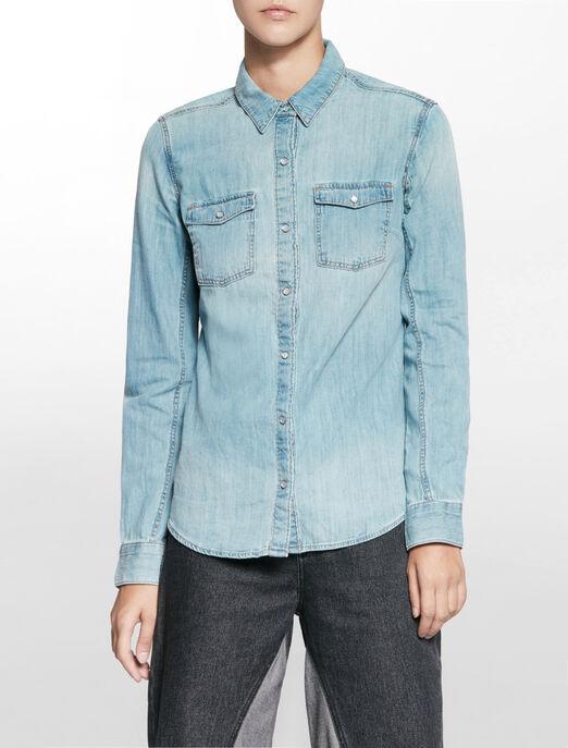CALVIN KLEIN LEAN 셔츠