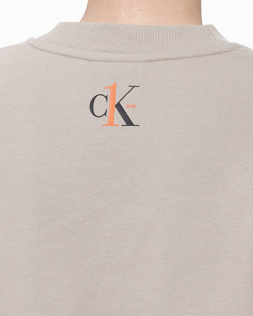 CALVIN KLEIN CK ONE CROPPED SWEATSHIRT