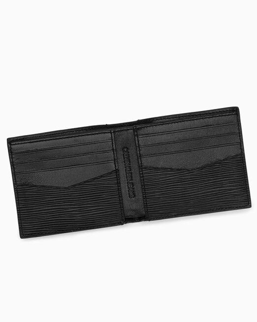 CALVIN KLEIN 남성 텍스쳐드 모노그램 빌폴드 지갑
