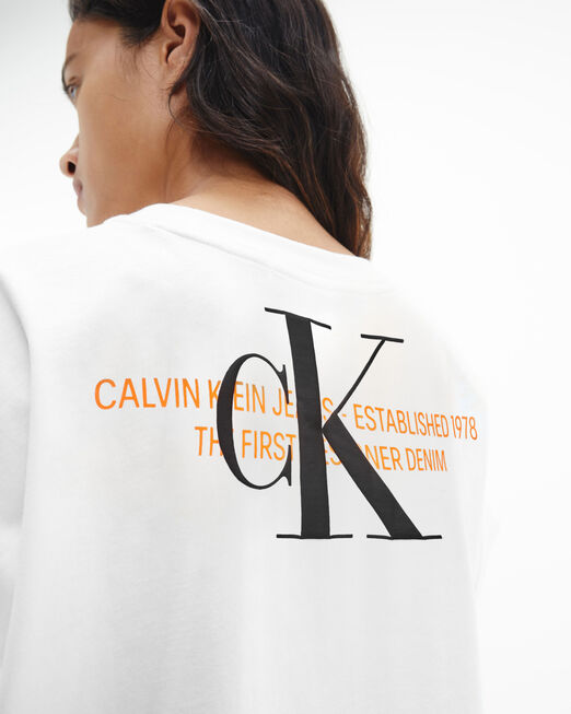 CALVIN KLEIN 여성 어반 로고 티셔츠
