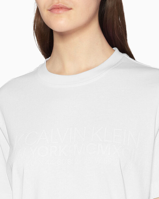 CALVIN KLEIN 클래식 로고 티셔츠