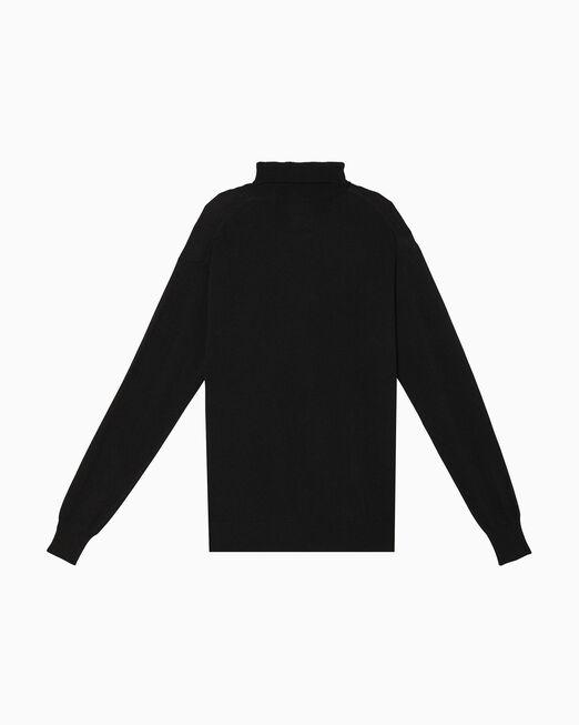 CALVIN KLEIN OK LOGO 터틀넥 스웨터