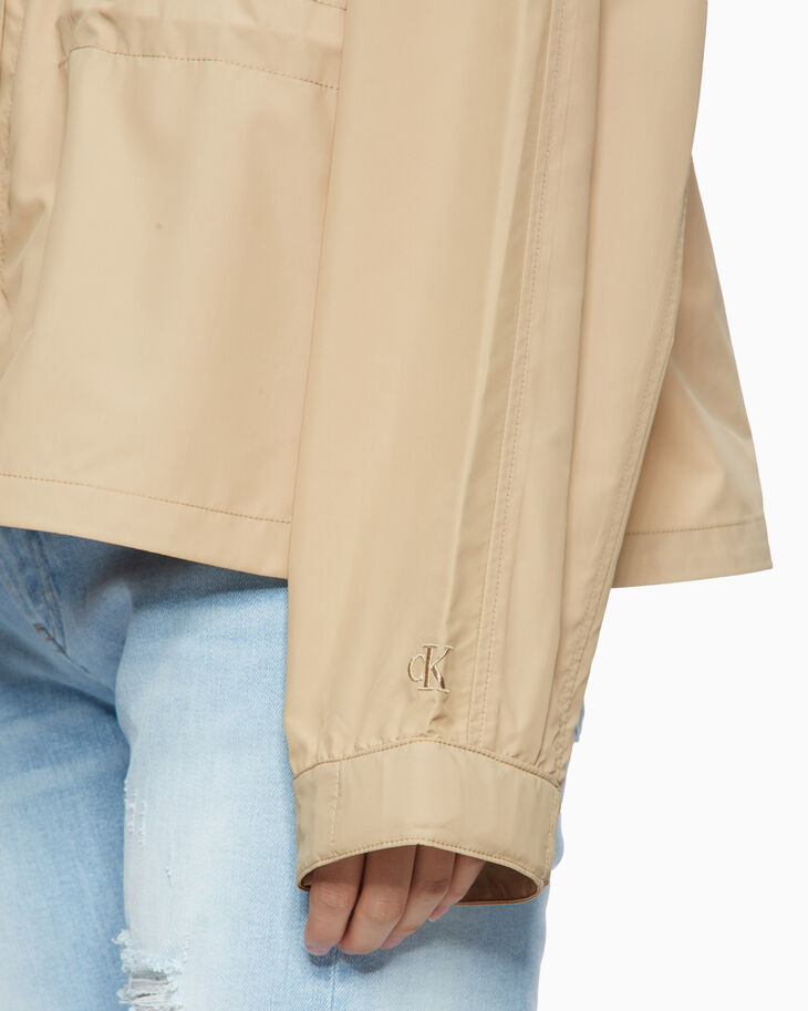 CALVIN KLEIN LIGHTWEIGHT SHORT TRENCH JACKET