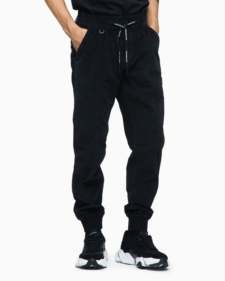 CALVIN KLEIN COTTON CORDUROY PANTS