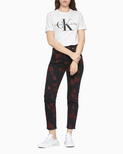 CALVIN KLEIN CK ONE ALL OVER PRINT MOM 진