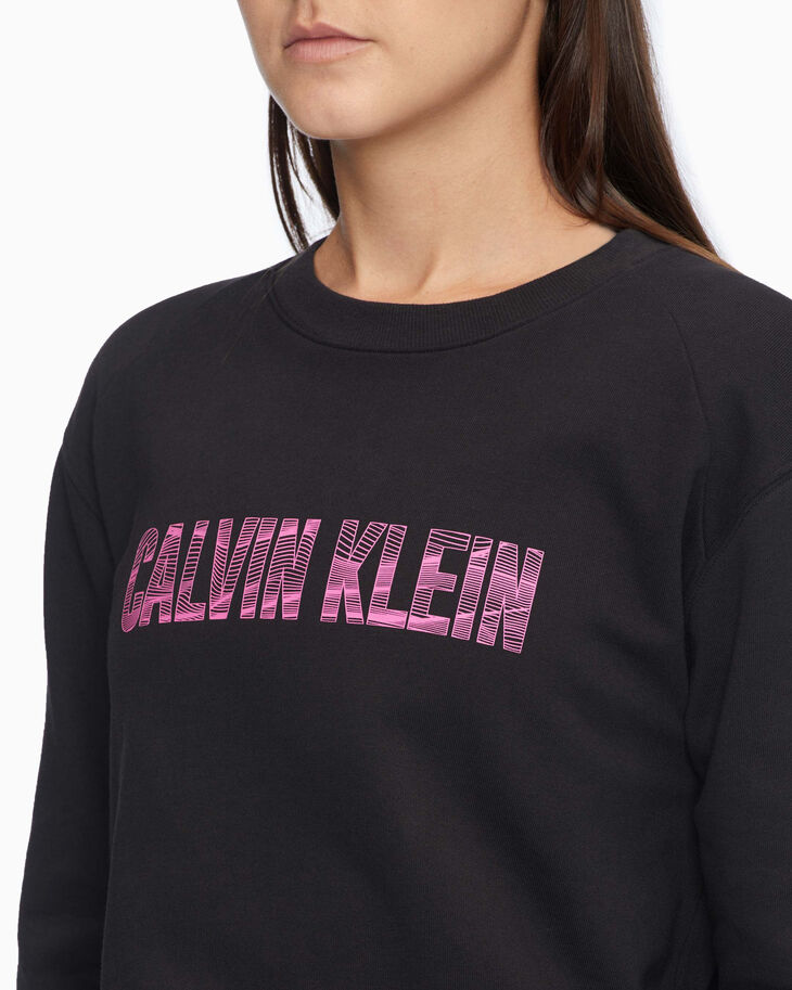 CALVIN KLEIN DIGITAL MOTION LOGO SWEATSHIRT