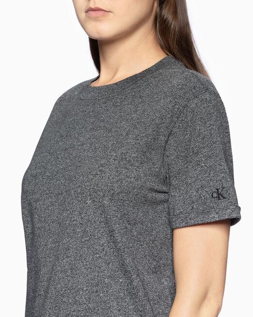 CALVIN KLEIN PLAIN BOYFRIEND FIT 티셔츠