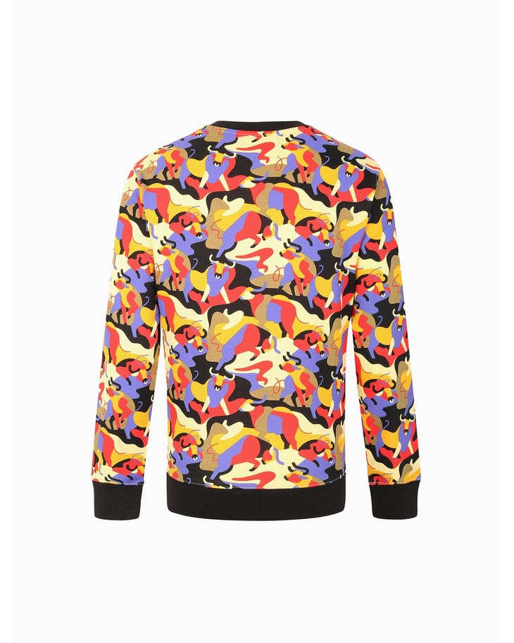 CALVIN KLEIN CHINESE NEW YEAR CAPSULE ALL-OVER PRINT SWEATSHIRT