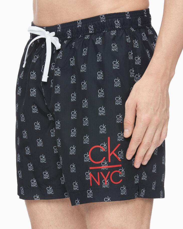 CALVIN KLEIN CK NYC MONOGRAM MEDIUM SHORTS