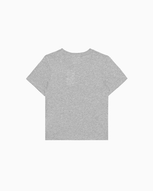 CALVIN KLEIN 남아용 OUTLINE 로고 티셔츠