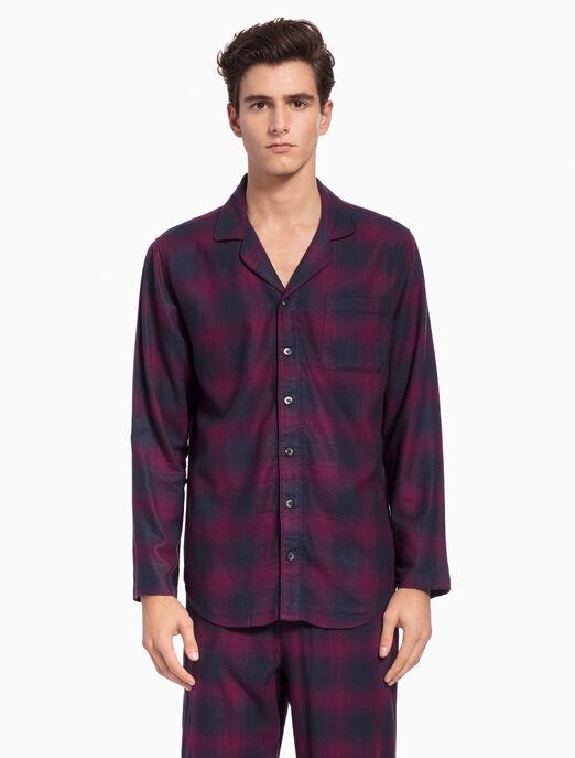 CALVIN KLEIN 플란넬 버튼다운 셔츠