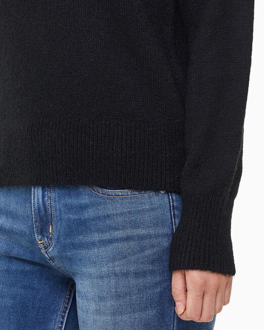 CALVIN KLEIN 여성 모노그램 로프티 스웨터