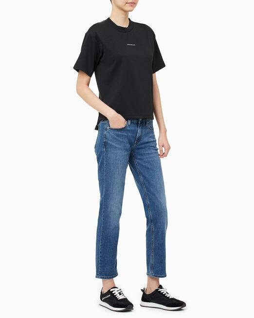 CALVIN KLEIN 여성 A 밀라노 패션 티셔츠