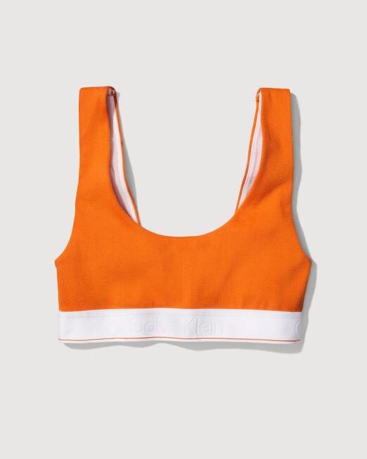 CALVIN KLEIN 여성 프로젝트 오렌지 U 백 브라렛 (블랙)