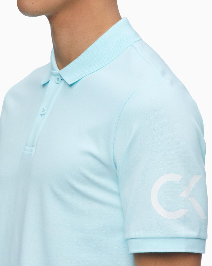 CALVIN KLEIN CORE MONOGRAM POLO SHIRT